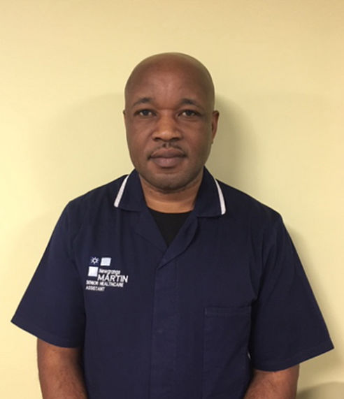 Martin Ngirishi - Senior Night Care Assistant - Newgrange